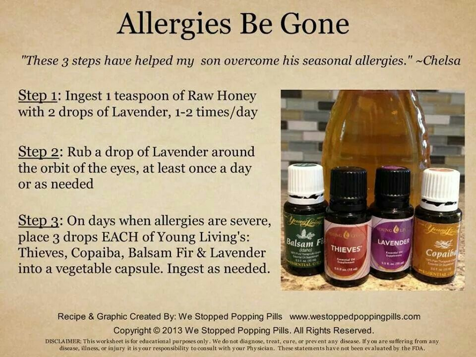 Allergies be gone