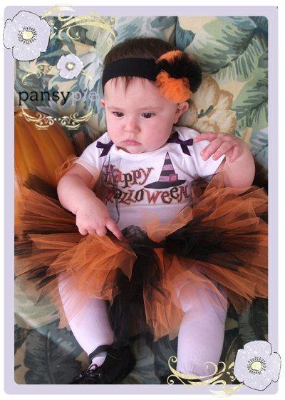 Baby Tutu Outfits Halloween Tutu Costume Tutu by PansyPieBoutique - halloween tutu ideas