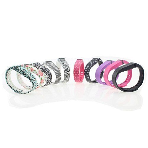Set 10 Colors Replacement Bands for Fitbit FLEX