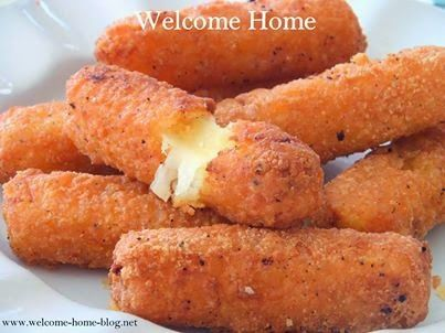 I saw a recipe for mozzarella sticks on the food channel a few years i saw a recipe for mozzarella sticks on the food channel a few years ago and decided to make home made versus buying those frozen kind in forumfinder Images