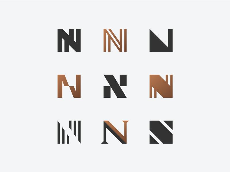 N Exploration N Logo Design Letter Logo Design Minimal Logo Design