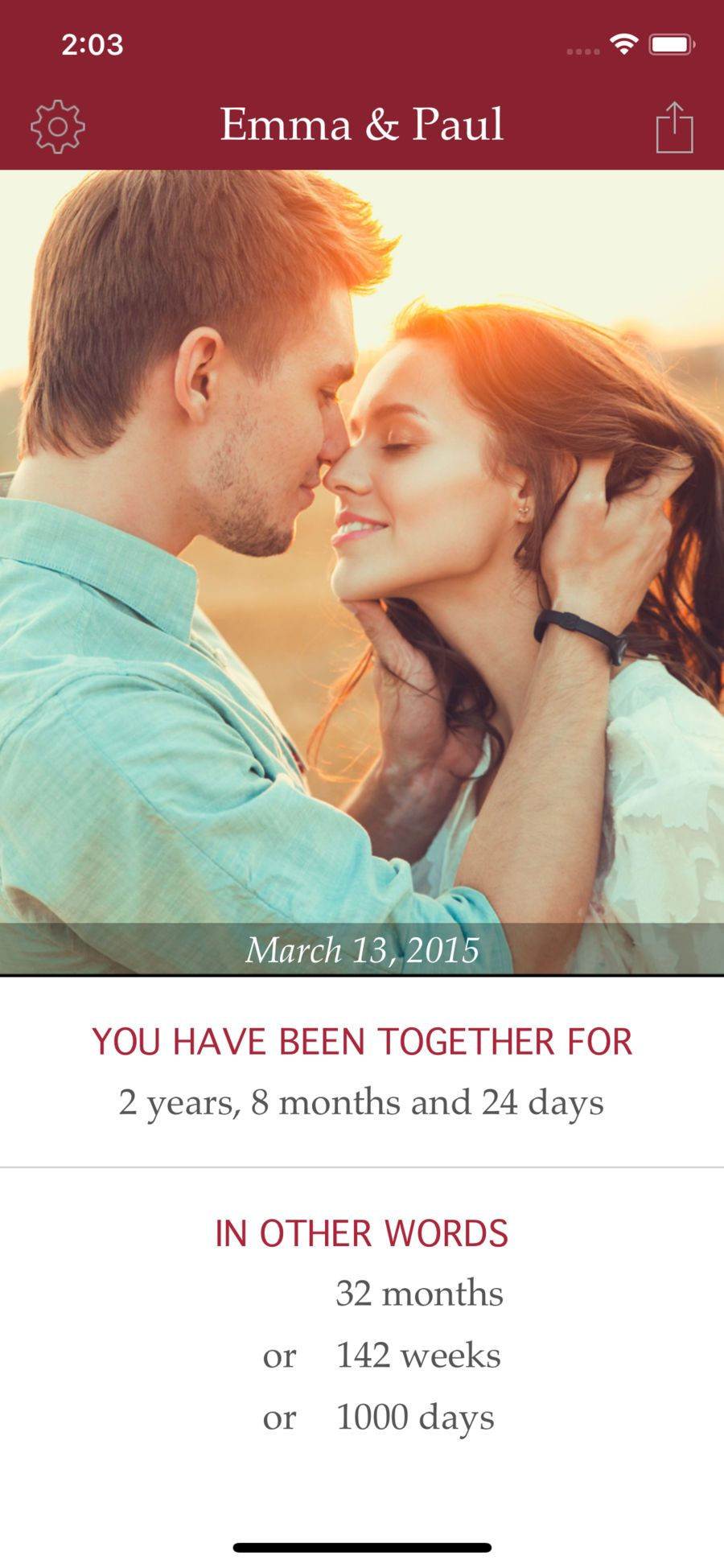 My Love Relationship Counter UtilitiesLifestyleapps