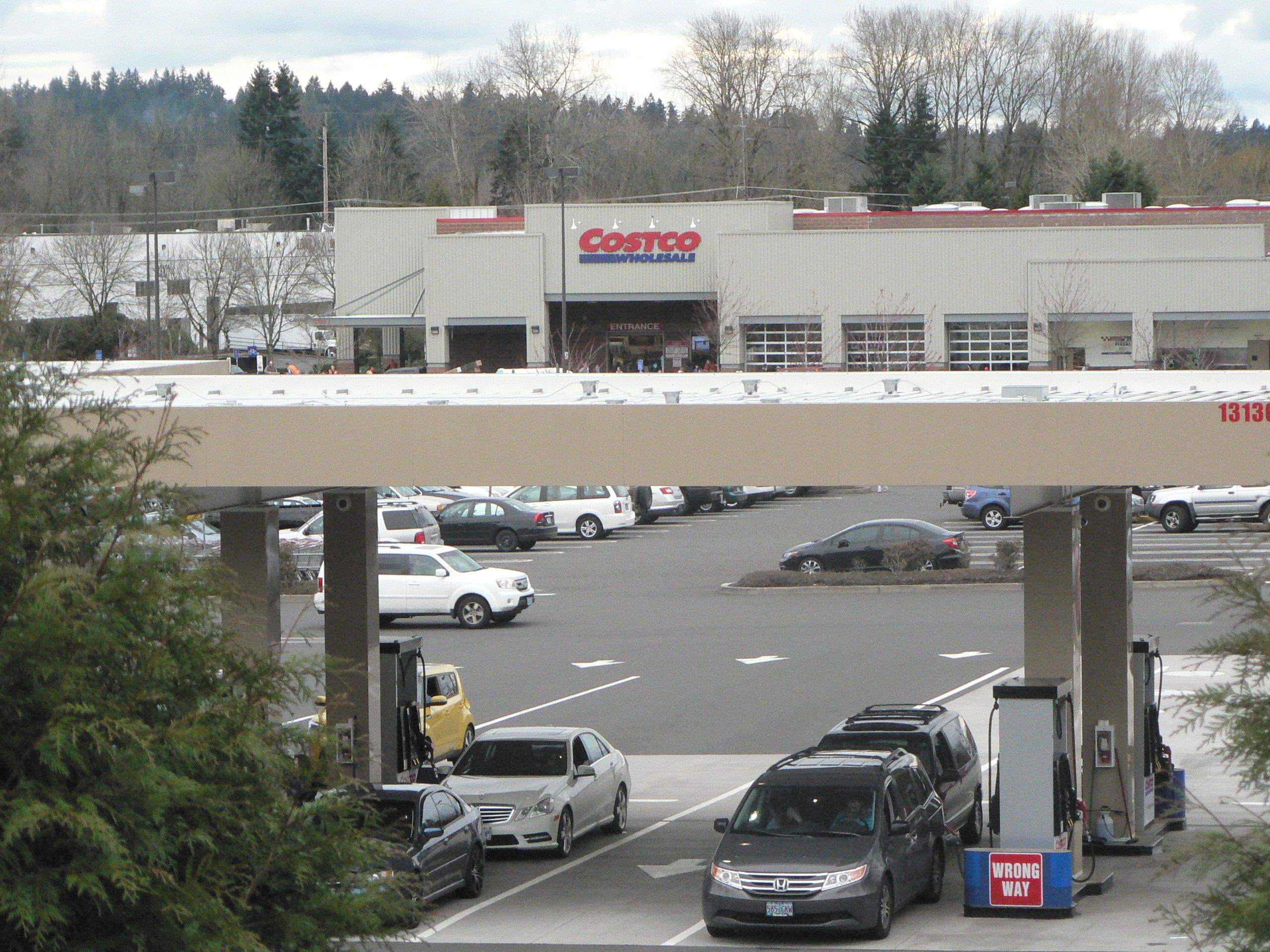 Costco With Gas Station In Clackamas Or Gas Station Oregon