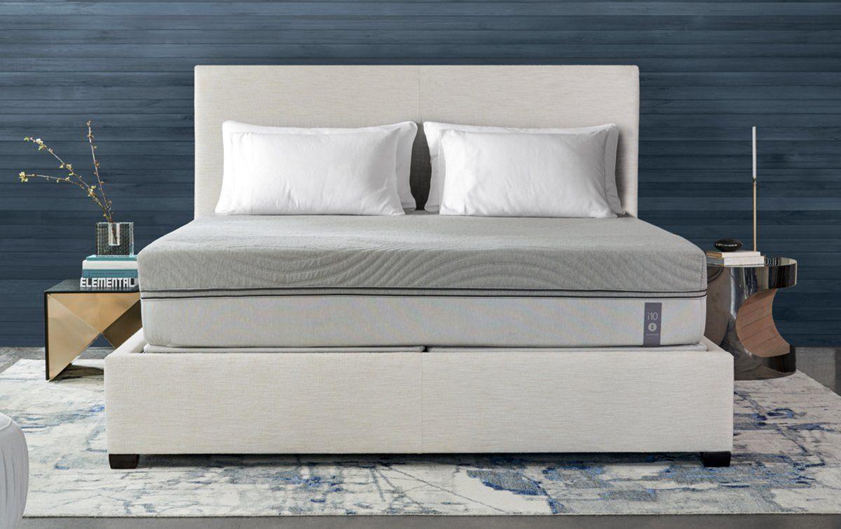 Between Sleep Number's vast range of beds and Purple's