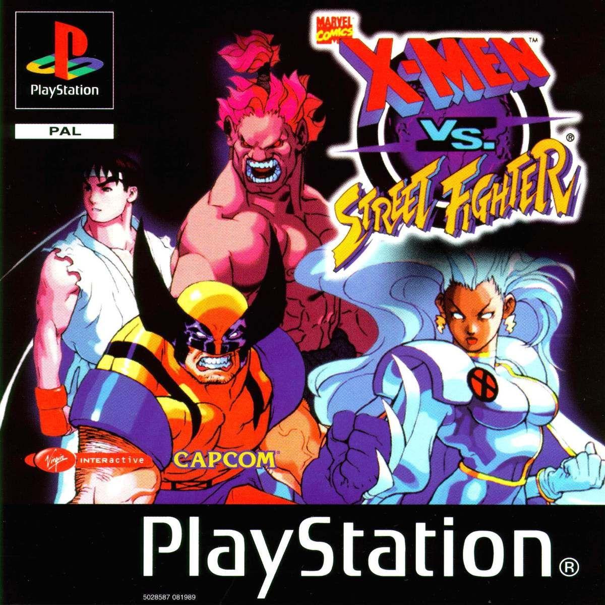 X Men Vs Street Fighter Psp Ps1 Ps2 R 15 99 Em Mercado