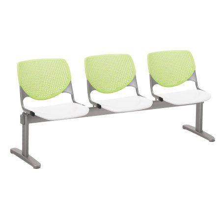 Terrific Kfi Seating Kool 3 Seat Beam Seating Multiple Colors Back Uwap Interior Chair Design Uwaporg