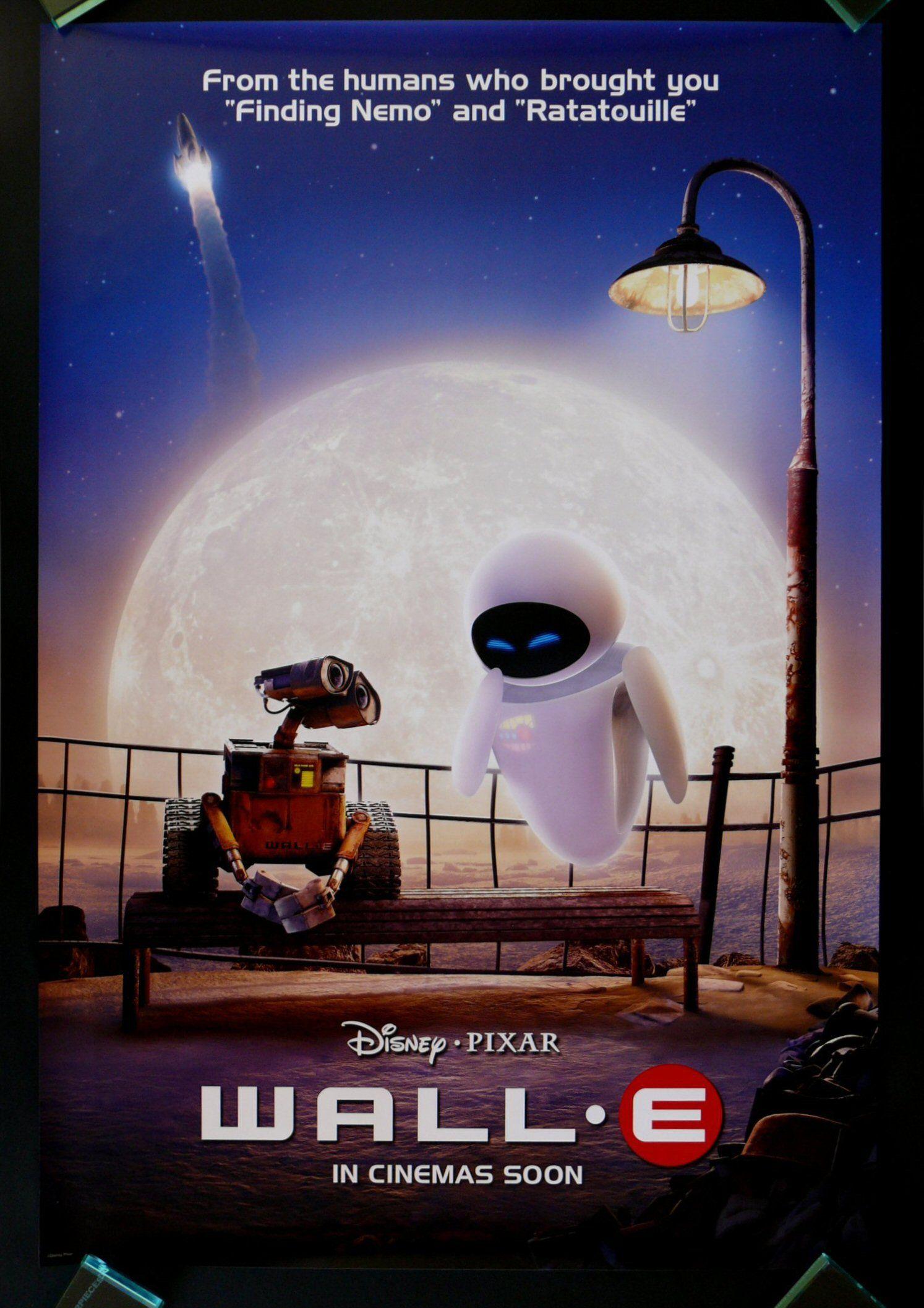 Details about WALLE Original Movie Poster (BLUE VER