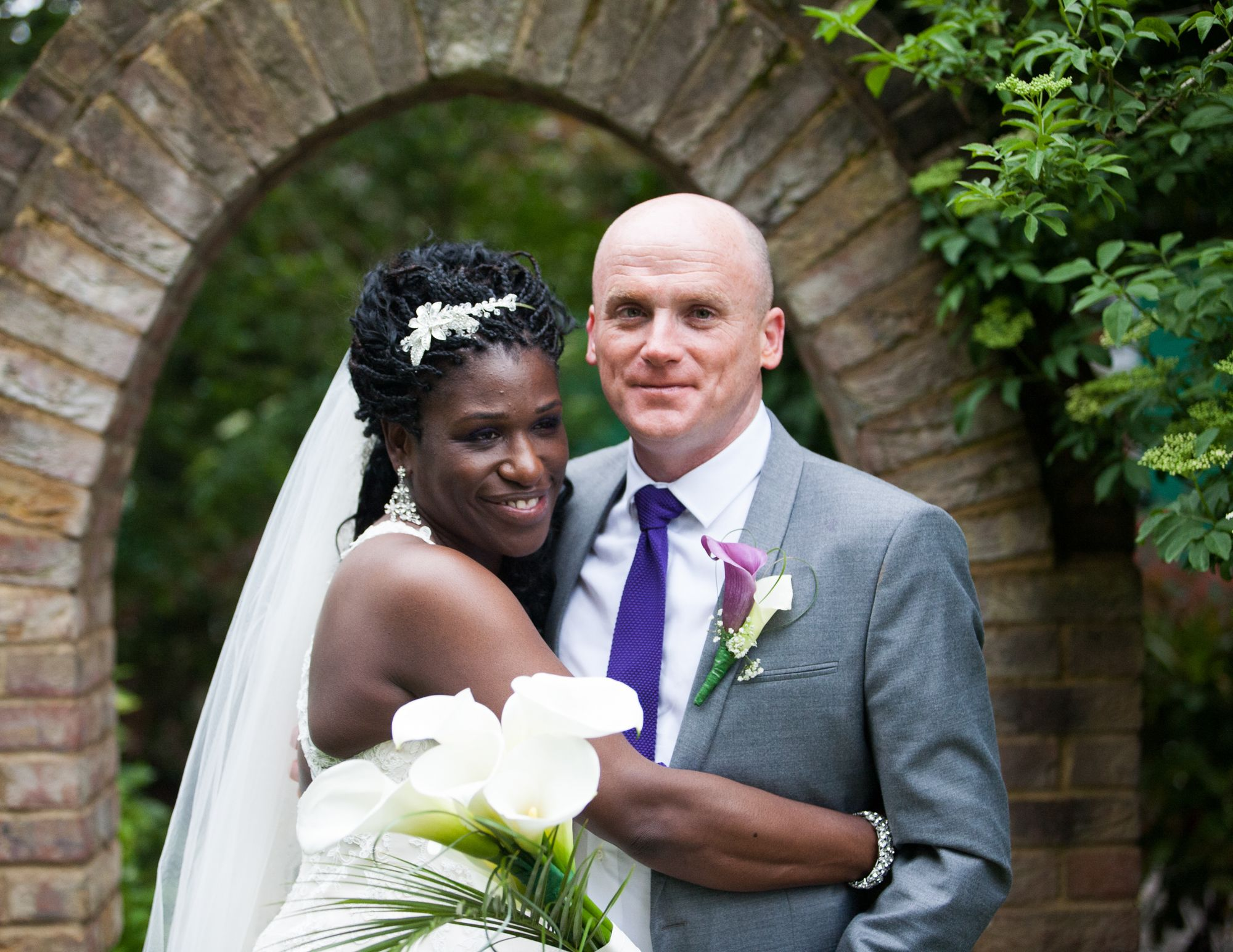Bride & Groom. Wedding photography for Abe & Marsha who got married at Oakley House Bromley June 2016