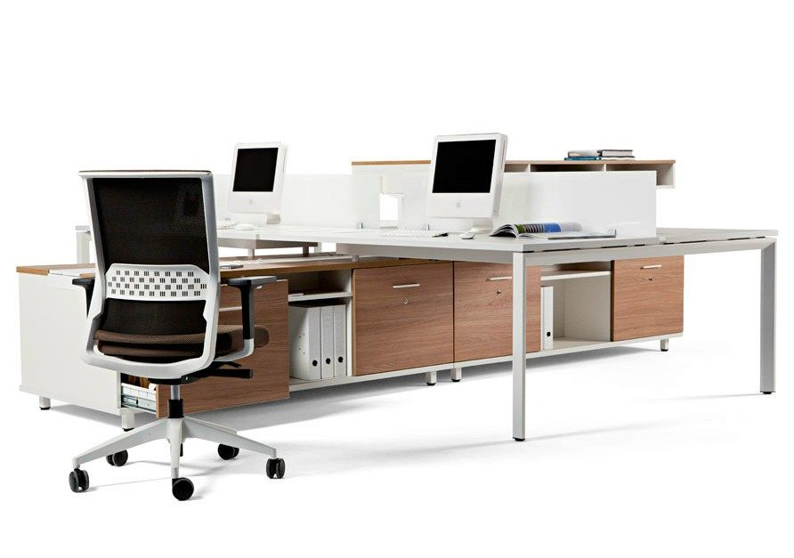 Sectional office desk with shelves SPINE by ACTIU  sc 1 st  Pinterest : sectional office desk - Sectionals, Sofas & Couches