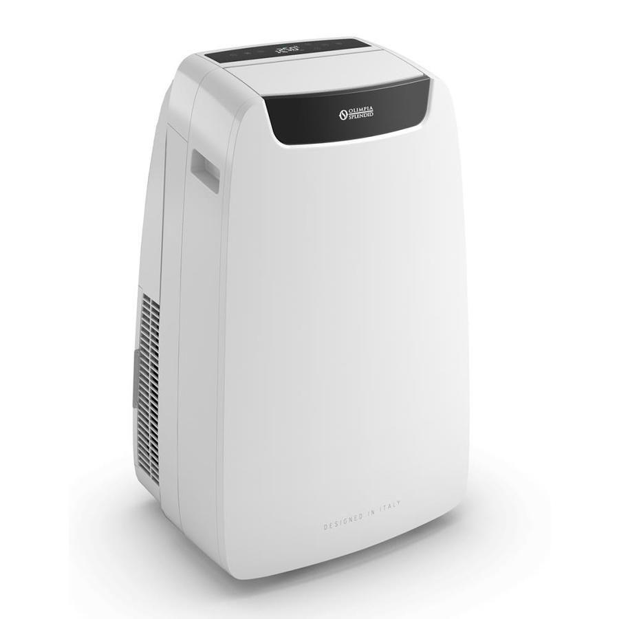 Olimpia Splendid 9000 Btu Doe 14000 Btu Ashrae 115 Volt White Portable Air Conditioner Lowes Com In 2020 Portable Air Conditioner Air Conditioner Design Air Conditioner