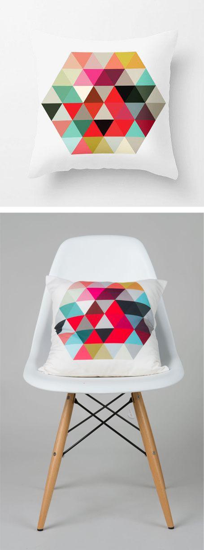 Geo pattern pillow //