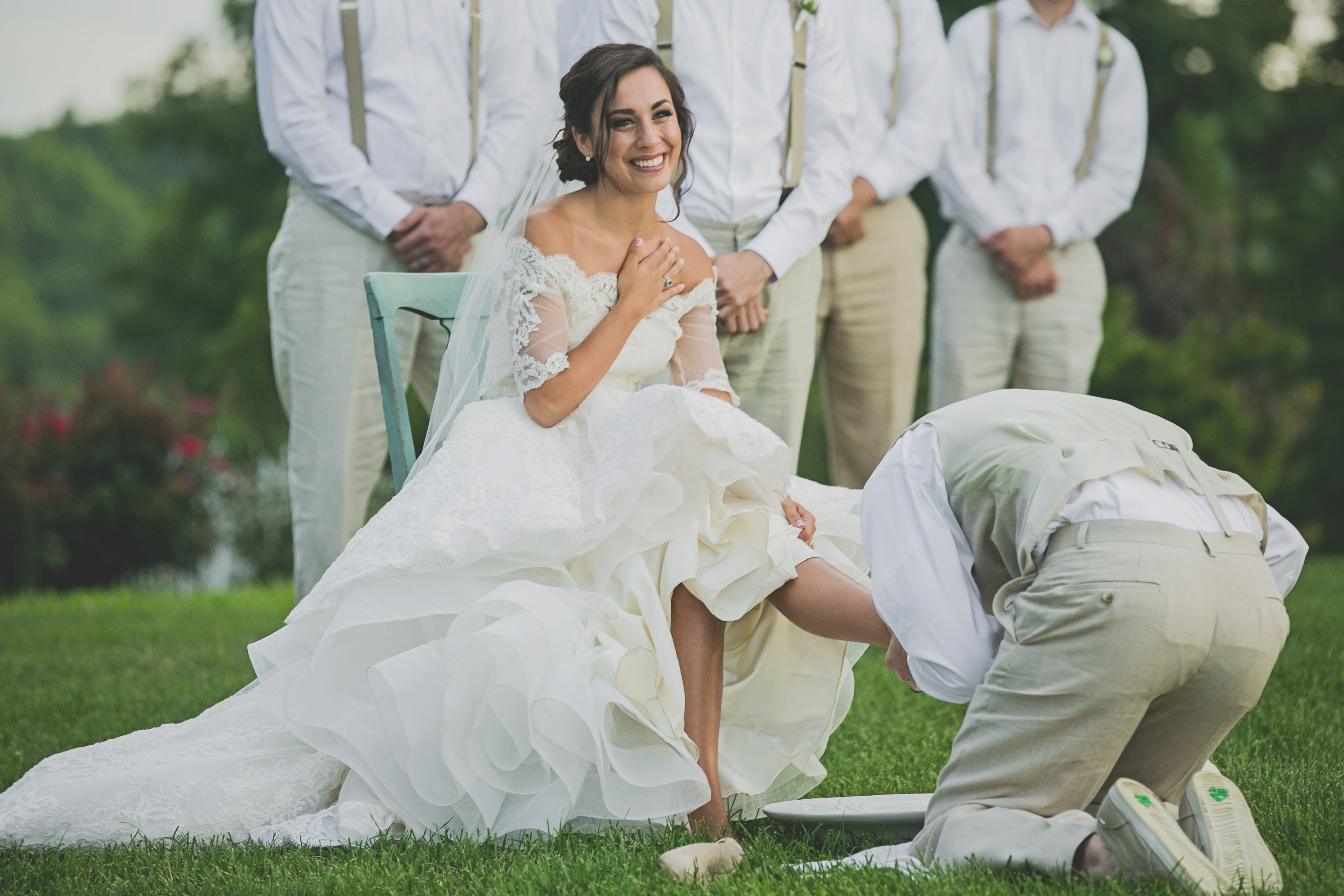 Groom Washing His Brides Feet During The Ceremony Best Moment Of My Life Wedding Shots Future Wedding Dream Wedding
