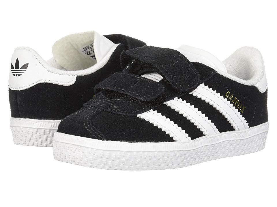 Adidas Gazelle CF Infant BlackWhite