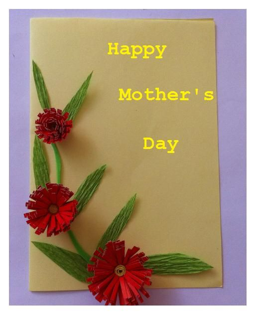 How To Make Happy Mother's Day Card