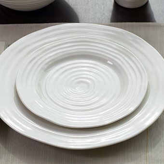 We love our dishes!Sophie Conran White Dinnerware & We love our dishes!Sophie Conran White Dinnerware | tablescapes ...