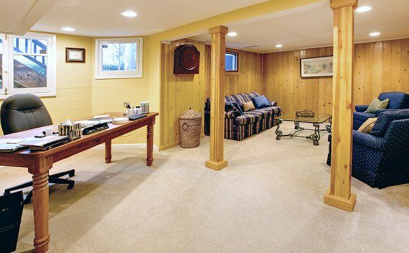 Basement Office Design Property make a basement livable - google search | basement | pinterest