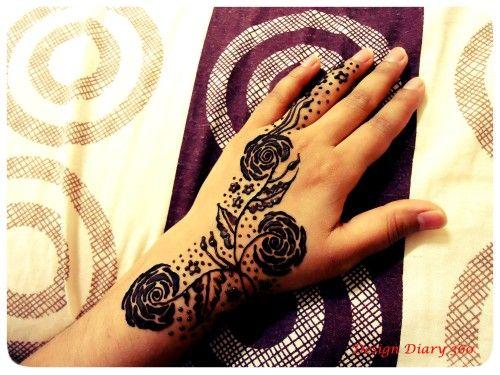 Khaleeji Henna Designs Tattoo: Step By Step Khaleeji Henna Tutorial