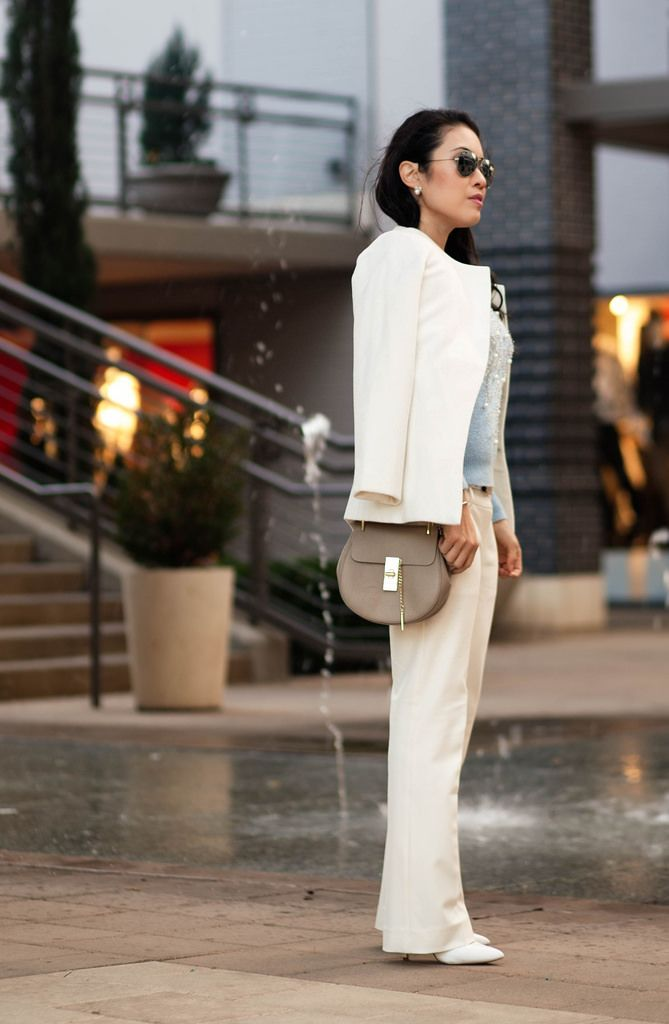 cute & little blog | petite fashion | white coat, blue snowflake ...