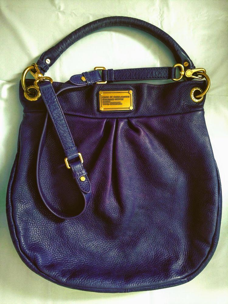 f923f565d73e Marc By Marc Jacobs Handbag Classic Q Hillier Purple Leather Hobo Shoulder  Bag  MarcbyMarcJacobs  HoboShoulderBag