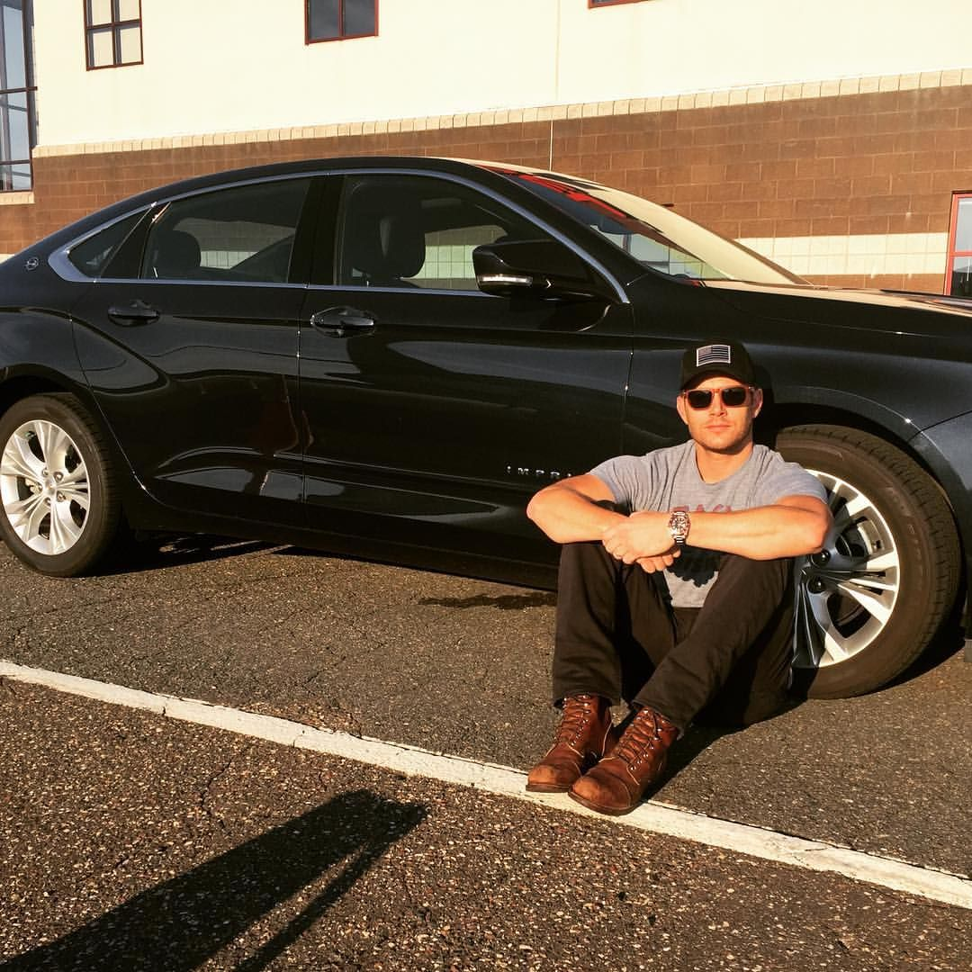 New Chevy Impala with Jensen Ackles. See this Instagram photo by @jensenackles