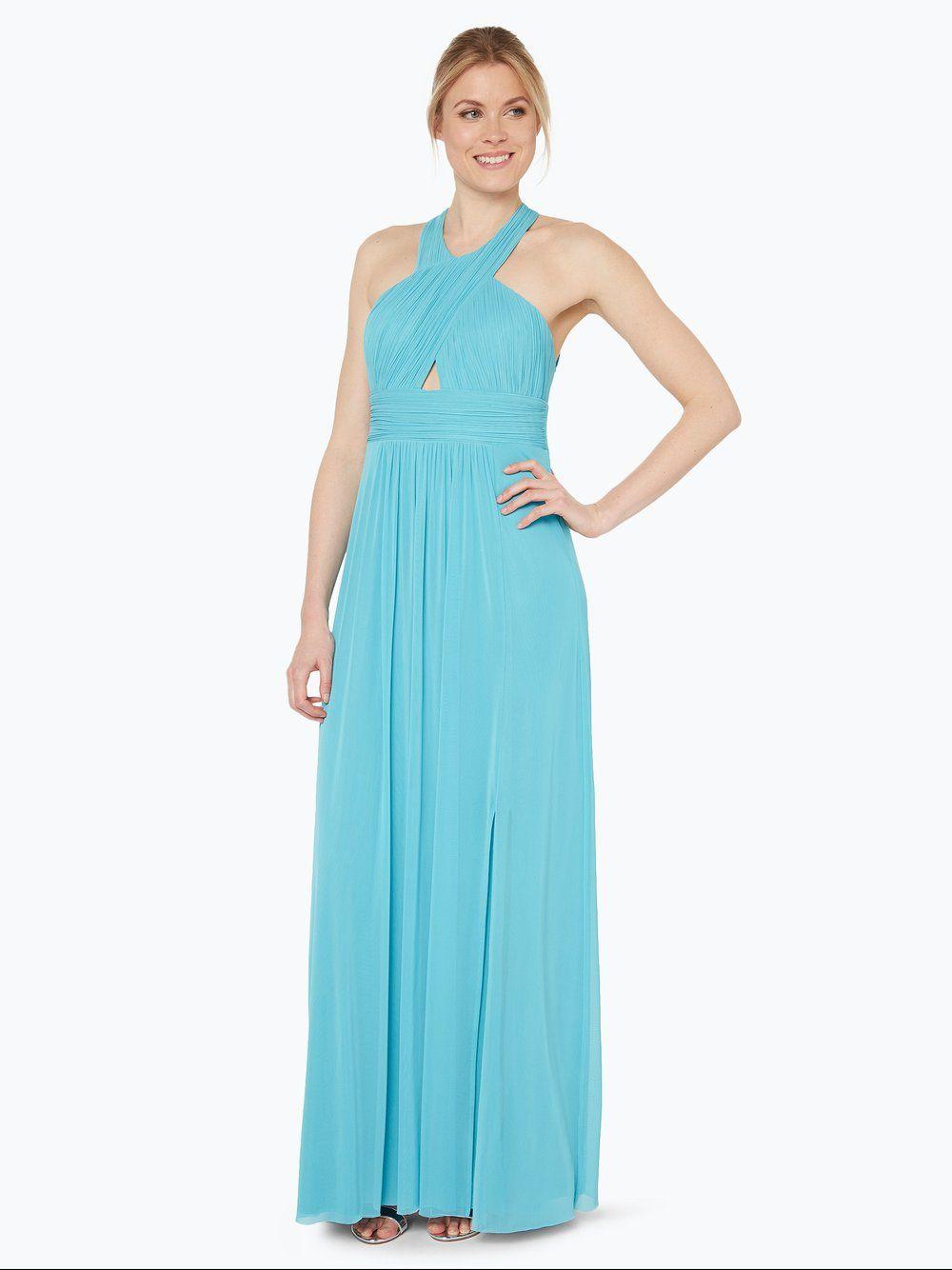 VM Abendkleid blau  Abendkleid, Kleider und Damen