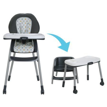 Walmart Baby Chairs Large Rocking Chair Cushions Graco Table2table 6 In 1 Convertible High Goldie Com