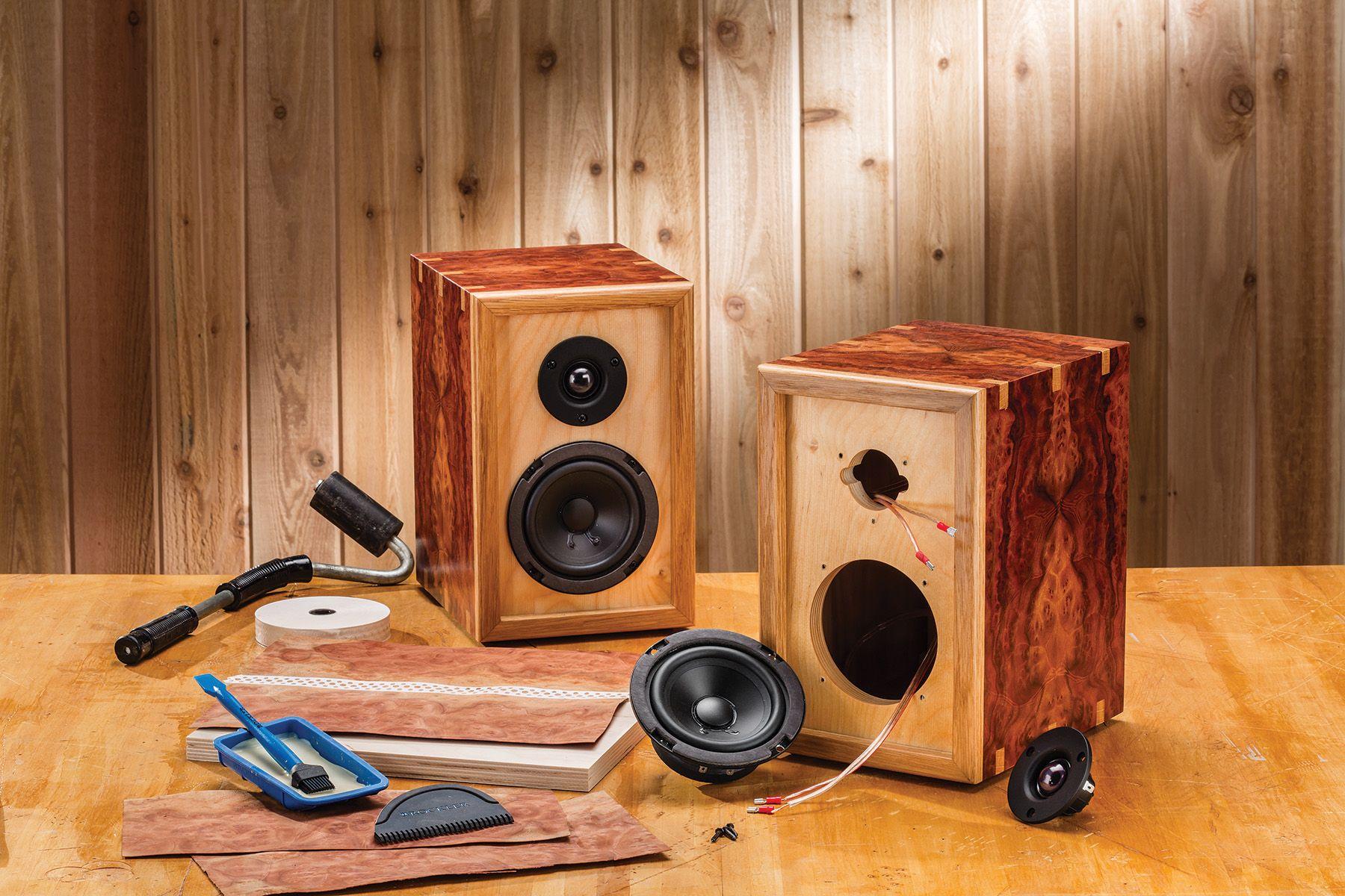 make your own speaker kit Elektronika Pinterest