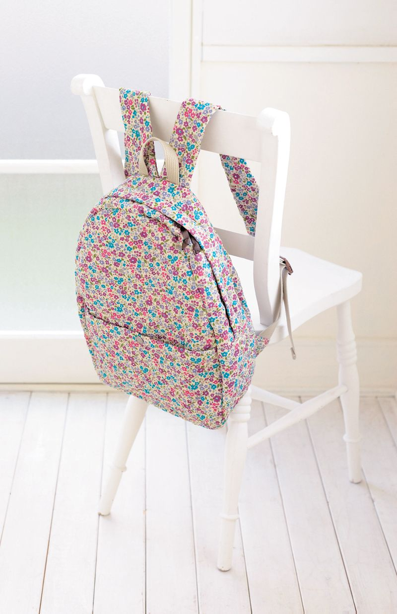 Fresh Sweet Floral Print Backpack only $30.99 | Nähen, Stricken ...
