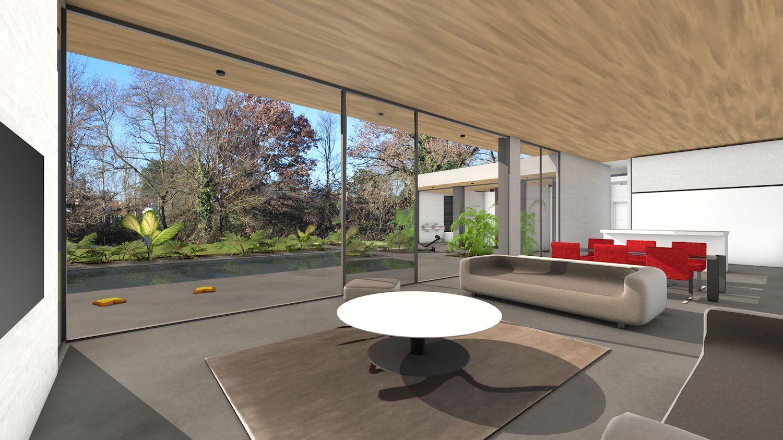 atelier d 39 architecture sc nario maison contemporaine de luxe concept dedans dehors c t de. Black Bedroom Furniture Sets. Home Design Ideas