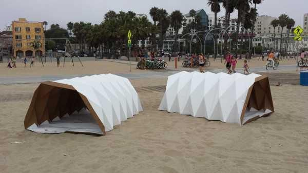 Foldable Cardboard Tents Offering Light Portable Shelters Portable Shelter Homeless Shelter Design Tent