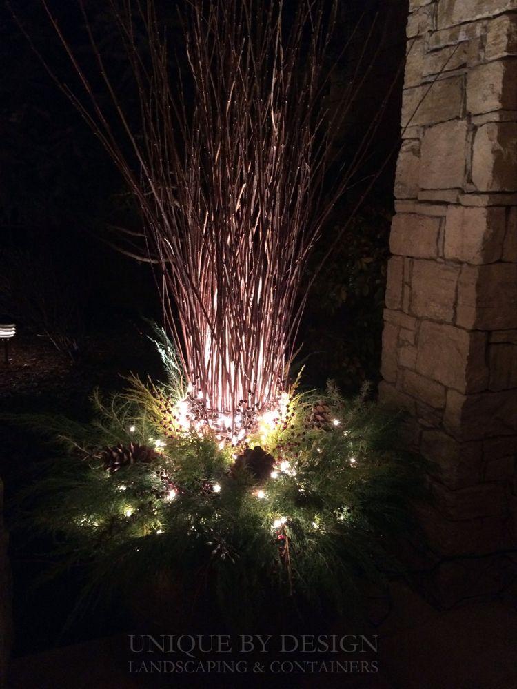 #weihnachtsdekohauseingangaussen