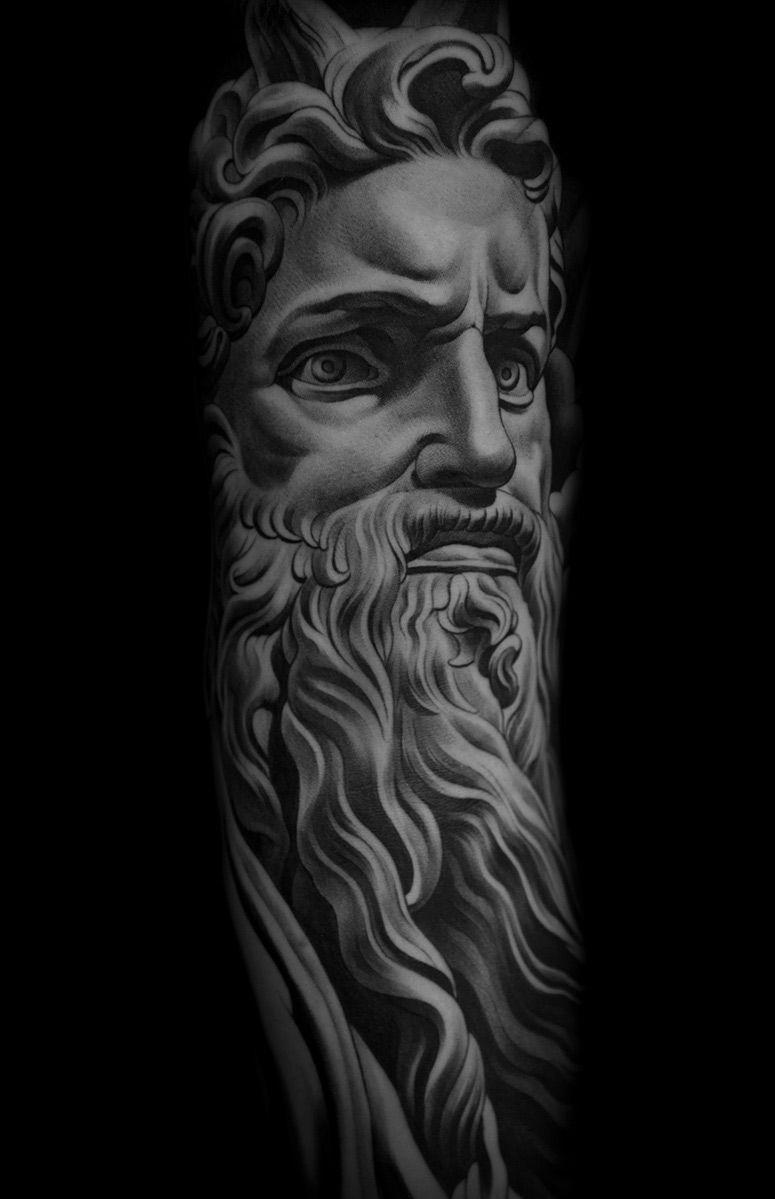 a6e7b9c514e06 Monarc Studios   Collection   beautiful   Tattoo artists, Grey ...