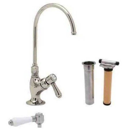 Rohl AKIT1635 Country Kitchen Filter Faucet, Available in Various Colors, Silver