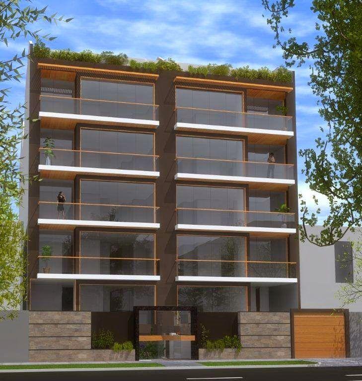 Fachadas de edificios de departamentos edificios for Departamentos minimalistas fachadas