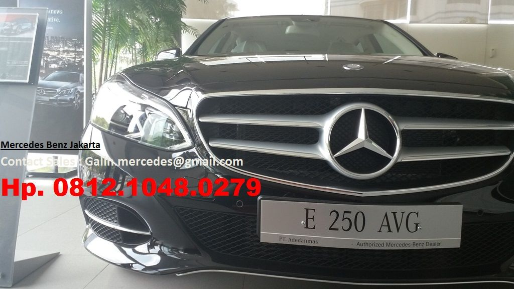Harga Terbaik New Mercedes Benz E250 Avg E400 Amg Tahun 2015 2016 Indonesia