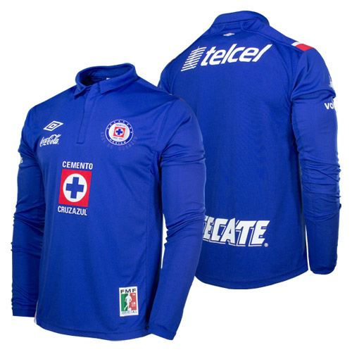 a27ed2a4e Umbro Cruz Azul 2012 2013 L S Home Jersey Available in X-L and XX-L only