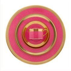 pink gold rimmed dinnerware set  sc 1 st  Pinterest & pink gold rimmed dinnerware set | Kitchens Hot Pink | Pinterest ...