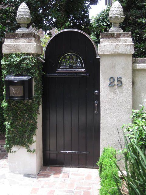 Front Gates · Wooden Garden GateOld Garden GatesModern ...