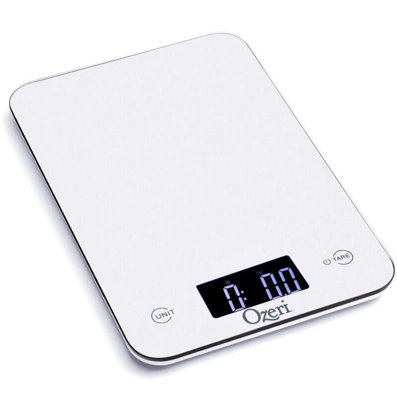 Ozeri Touch Professional Digital Kitchen Scale Balança De Alimentos Balança Casa E Cozinha