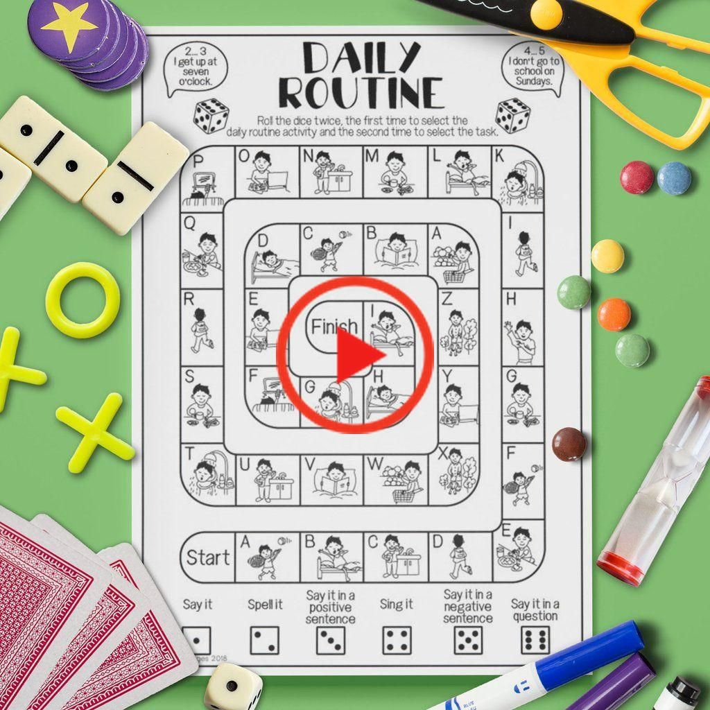 Game Board Routine Quoti Nne In