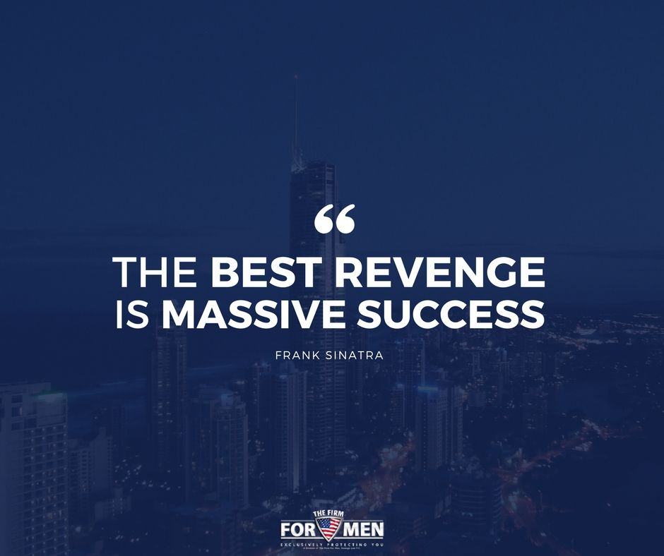 Take It From Ol Blue Eyes Success Revenge Motivation Quote