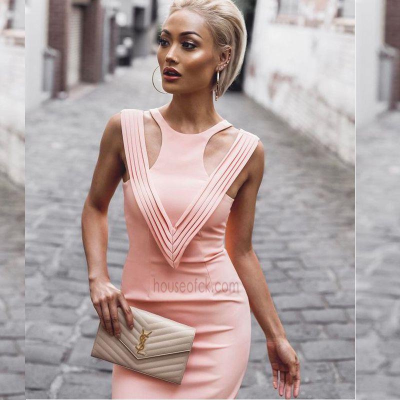 2017 elegant nude apricot bandage dress off shoulder vetsidos de festa women summer dresses brief long formal robe de soiree