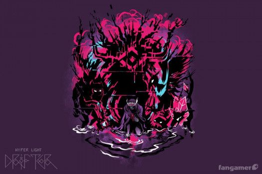 Hyper Light Drifter Judgment Drifter Pixel Art Design Concept Art Characters