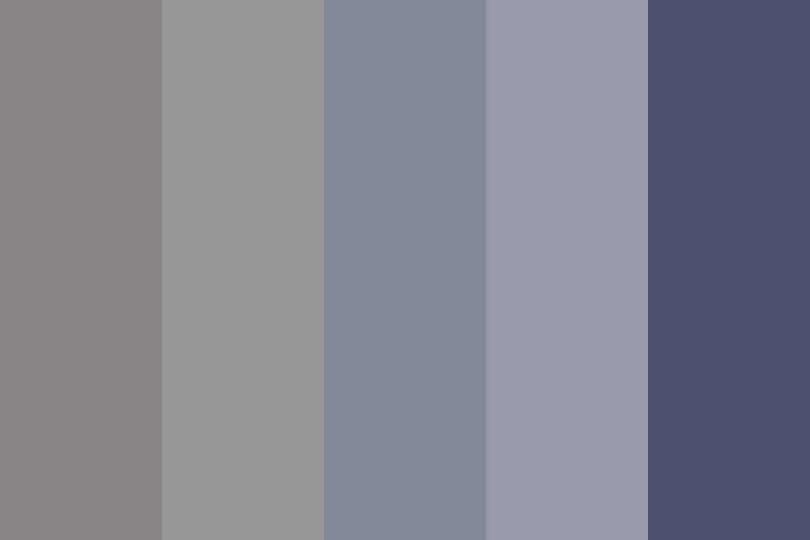 Purple Grey Color Palette Cool Website For Choosing And Creating Web Palettes