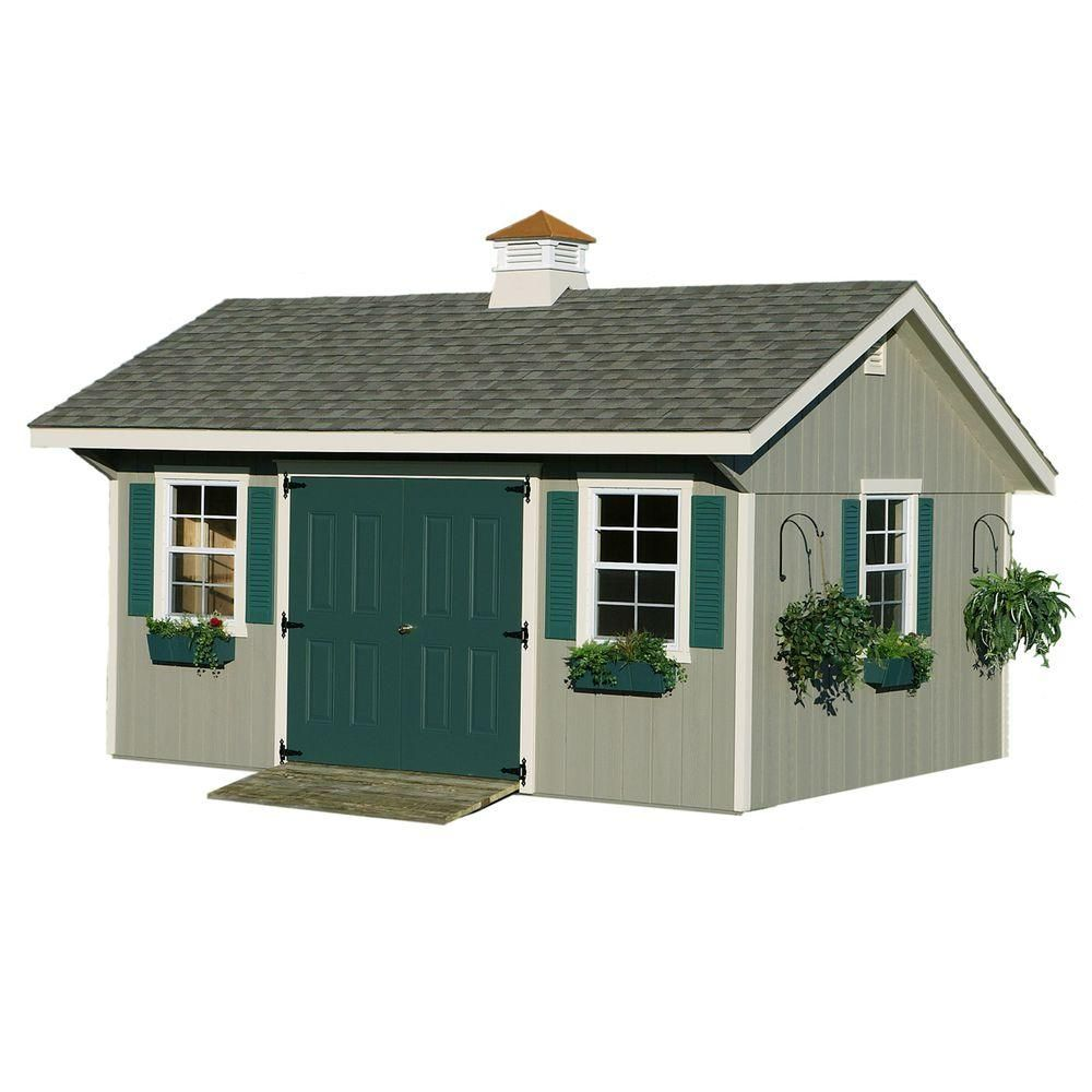 Garden Sheds Madison Wi homeplace structures 12 ft. x 20 ft. bungalow garden building with