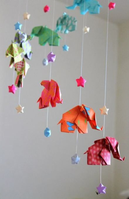 Photo of Origami Mobile Baby Muster 31 Ideen für 2019
