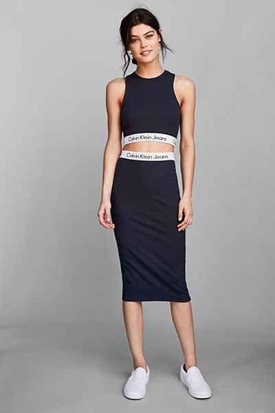 9c382bdc7e1f Calvin Klein For UO Tube Skirt