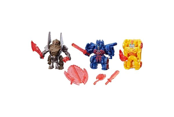 Transformers: The Last Knight - Reveal The Shield Tiny Turbo Changers 3-Pack In Stock At Target Website