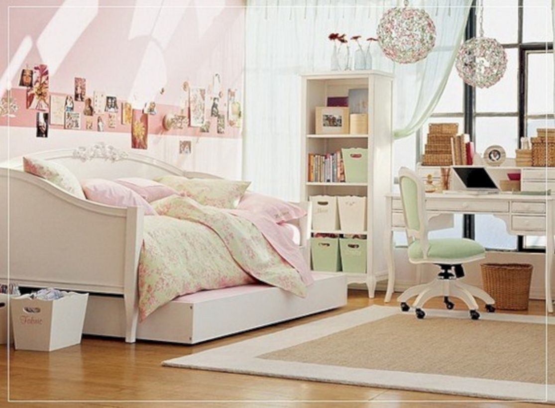Merveilleux Vintage Teenage Girls Bedroom Ideas (52)