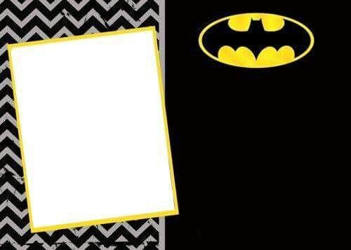 Batman Invitation Invitations